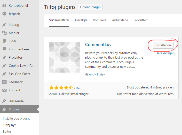 commentluv_wordpress_installation_2