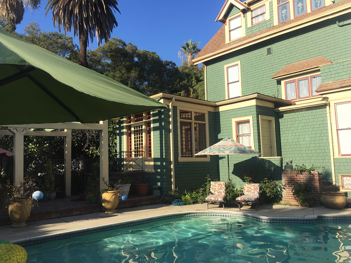 Rejseguide Los Angeles Bissell House Bed & Breakfast